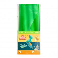 Набор стержней 3Doodler Start для 3D-ручки, зеленый, 24 шт. 3DS-ECO07-GREEN-24 ТМ: 3Doodler Start