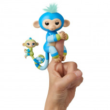 Интерактивная гламурная обезьянка WowWee Fingerlings Билли с Айден W3540/3541 ТМ: Fingerlings
