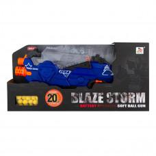 Бластер Blaze Storm Battery Operated Soft Ball Gun с 20 шариками ZC7109 ТМ: Blaze Storm