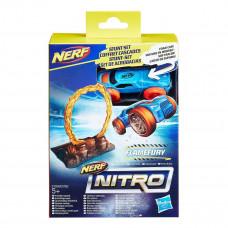 Игровой набор Nerf Nitro Flamefury Машинка с препятствием E0153_E1269 ТМ: Nerf