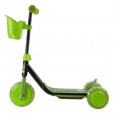 Самокат Stiga Mini Kid 3w Kick Scooter Black Green 80-7401-19 ТМ: Stiga