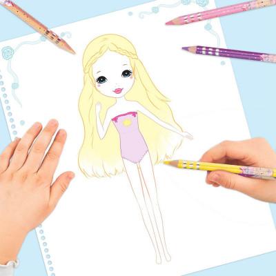 Раскраска с наклейками Princess Mimi Гламур 46556 ТМ: Princess Mimi