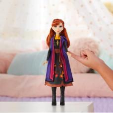 Кукла Анна Hasbro Frozen с мерцающим платьем E6952_E7001 ТМ: Disney Frozen (Hasbro)