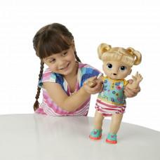 Интерактивная кукла Hasbro Baby Alive Первые Шаги Малышка Блондинка E5247ES0 ТМ: Baby Alive