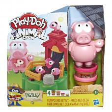 Набор Play-Doh Animal Crew Озорные Поросята E67235L0 ТМ: Play-Doh