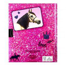 Дневник для записей Horses Dreams розовый 48936 ТМ: Horses Dreams
