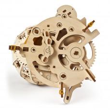 Механический 3D конструктор Ukrainian Gears Глобус 70128 ТМ: Ukrainian Gears