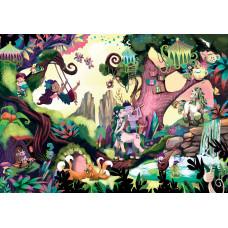 Пазл-головоломка Educa Волшебный лес 200 эл 18612 ТМ: Educa