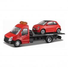 Автоперевозчик Bburago c автомоделью Fiat 18-31402 ТМ: Bburago