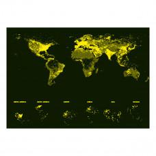 Пазл-неон Educa Карта мира 1000 эл 16760 ТМ: Educa