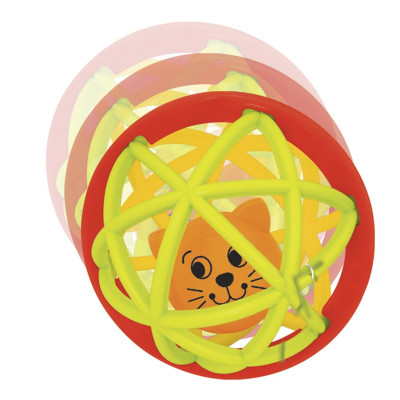 Погремушка-шарик Kiddieland Шустрый котенок 49858 ТМ: Kiddieland
