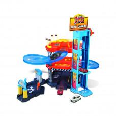 Игровой набор Bburago Паркинг 3 уровня 2 машинки, 1:43 18-30361 ТМ: Bburago