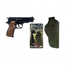 Пистолет Command 8-зарядный с кобурой Gonher 1125/6 ТМ: GONHER