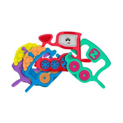 Игрушка-погремушка Chicco Паровозик 7681 ТМ: Chicco