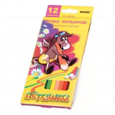 Карандаши цветные Marco Пегашка, 12 цветов 1010-12CB ТМ: Marco