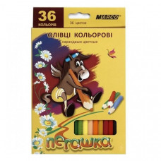 Набор цветных карандашей Marco Пегашка, 36 цветов 1010-36CB ТМ: Marco