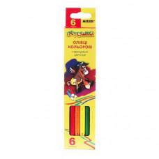 Карандаши цветные Marco Пегашка 6 цветов 1010-6CB ТМ: Marco