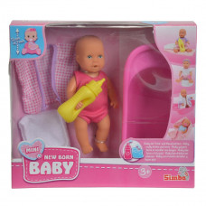 Мини пупс New born baby с ванночкой 5033218 ТМ: New Born Baby