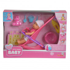 Кукольный набор Simba Пупс New Born Baby mini, 12 см 5030928 ТМ: New Born Baby
