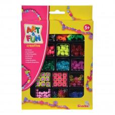 Набор бусин Art&Fun Стильный дизайн (в ассорт.) 6374132 ТМ: Art&Fun