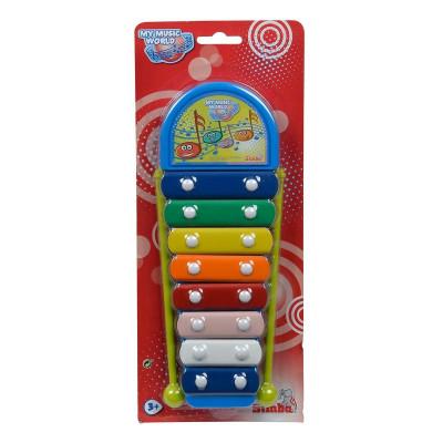 Ксилофон Simba Toys Веселые ноты 28 см 6834043 ТМ: Simba