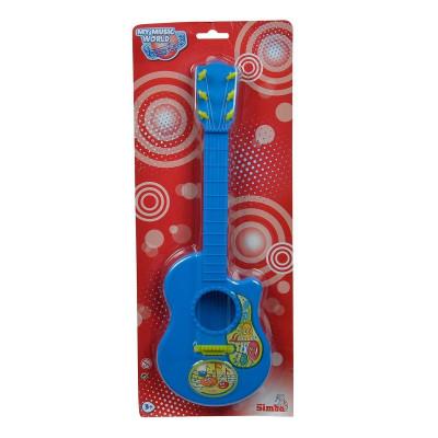 Гитара Simba Веселые ноты, 6 струн, синяя 6834046 ТМ: Simba