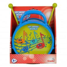 Барабан Simba Веселые ноты, 16 см 6834047 ТМ: Simba
