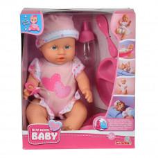 Пупс Simba New Born Baby Уход за малышом, 30 см 5030005 ТМ: New Born Baby
