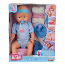 Пупс Simba New Born Baby Уход за малышом, мальчик, 43 см 5030044 ТМ: New Born Baby