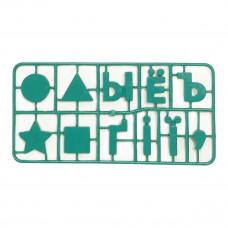 Набор Numo Toys Буквы Знаки Фигуры 71 эл NT22482 ТМ: Numo Toys