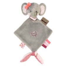 Мягкая игрушка-обнимашка Nattou Doodoo Слоник Адель (424141)