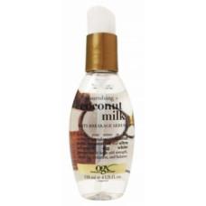 Сыворотка для волос OGX, питательная против ломкости, с кокосовым молоком, 118 мл