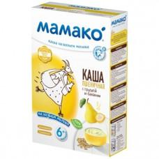 Молочная каша на козьем молоке МАМАКО Пшеничная с грушей и бананом, 200 г