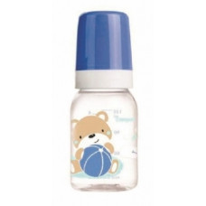 Тритановая бутылочка для кормления Canpol babies Sweet fun, 120 мл, синий (11/850_blu)