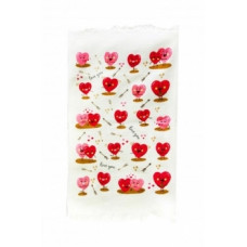 Полотенце махровое IzziHome Любовь, 60х40 см, розовый (546364)