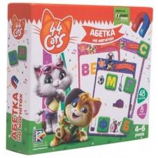 Азбука на магнитах Vladi Toys 44 кота, укр. язык (VT5411-07)