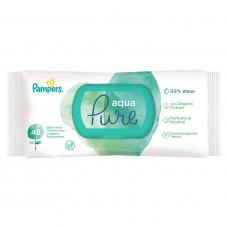 Детские влажные салфетки Pampers Aqua Pure, 48 шт