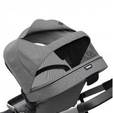 Детская коляска с люлькой Thule Sleek & Bassinet Grey Melange 2-в-1 TH11000006 ТМ: Thule