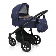 Универсальная коляска Baby Design Lupo Comfort Navy Blue 2 в 1 299605 ТМ: Baby Design