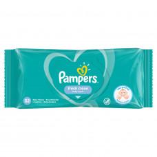 Детские влажные салфетки Pampers Fresh Clean, 52 шт
