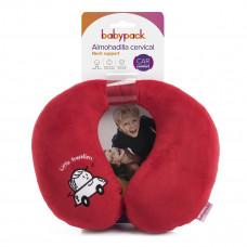 Подушка babypack Travellers Red  ТМ: babypack