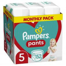 Подгузники-трусики Pampers Pants, размер 5, 12-17 кг, 152 шт