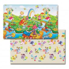 Игровой коврик Dwinguler Dino Land Русский алфавит 230х140х1.5 см 886092 ТМ: Dwinguler