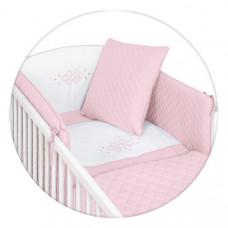 Постельный комплект Ceba Baby Caro розовый, 5 пред W-809-079-137 ТМ: Ceba Baby