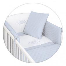 Постельный комплект Ceba Baby Caro голубой, 5 пред W-809-079-160 ТМ: Ceba Baby