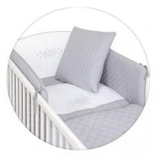 Постельный комплект Ceba Baby Caro Grey, 5 эл. W-809-079-260 ТМ: Ceba Baby