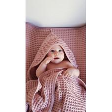 Полотенце Ceba Baby Waffle Line Silver Pink 100х100 см W-815-303-130 ТМ: Ceba Baby