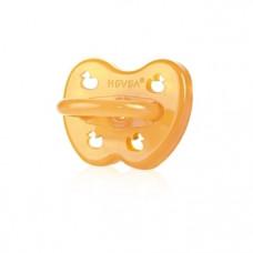 Симметричная пустышка Hevea Duck Symm, 3+, из натурального каучука (HEVDUCK3+S)