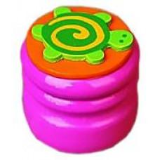 Шкатулка для молочных зубов Viga Toys Зубная фея Черепашка, розовый (53911)