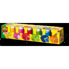 Гуашь Ses Creative Арома, в пластиковых баночках, 6 цветов (00334S)